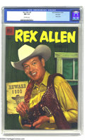 Golden Age (1938-1955):Western, Rex Allen Comics #8-11 File Copy Group (Dell, 1953-54) Condition:Average NM 9.4. All issues in this group are file copies w...(Total: 4 Comic Books Item)