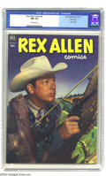Golden Age (1938-1955):Western, Rex Allen Comics File Copy Group (Dell, 1952) CGC NM 9.4. Here's agreat group of high-grade comics for Western fans, and th...(Total: 3 Comic Books Item)