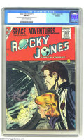 Golden Age (1938-1955):Science Fiction, Space Adventures #17 Bethlehem pedigree (Charlton, 1955) CGC NM 9.4 Cream to off-white pages. TV's space ranger Rocky Jones ...