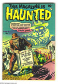 Golden Age (1938-1955):Horror, This Magazine Is Haunted #8 Bethlehem pedigree (Fawcett, 1952)Condition: NM-. Sheldon Moldoff art. A certificate of authent...