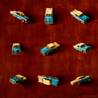 Henk Serfontein (b. 1971) Still Life With Blue Chevy, 2004 Oil on board 28 x 28 inches (71.1 x 71