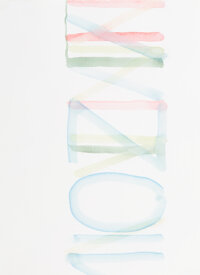 Helmut Dorner (b. 1952) Spi, #97, and NXON, #170, from The Santa Fe Drawings (2 works), 1995 Watercolor on pap... (Total...
