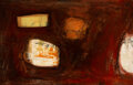 Paintings, Janet Lippincott (1918-2007). Homage to Rembrandt, 1961. Oil on canvas. 38 x 58 inches (96.5 x 147.3 cm). Signed upper r...
