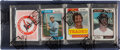 Baseball Cards:Unopened Packs/Display Boxes, 1974 Topps Baseball Rack Pack with Orioles Game Giveaway Schedule Header Card. ...