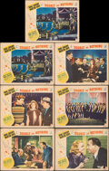 """Movie Posters:Musical, Double or Nothing (Paramount, 1937). Fine+. Lobby Cards (7) (11"""" X 14""""). Musical.. ... (Total: 7 Items)"""