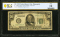 Fr. 2100-I* $50 1928 Federal Reserve Star Note. PCGS Banknote Fine 12