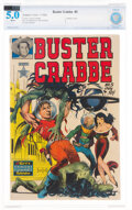 Golden Age (1938-1955):Adventure, Buster Crabbe #5 (Famous Funnies Publications, 1952) CBCS VG/FN 5.0 White pages....