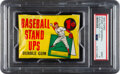 Baseball Cards:Unopened Packs/Display Boxes, 1964 Topps Stand-Up Baseball Unopened 1-Cent Wax Pack PSA Mint 9....