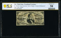 Fractional Currency:Third Issue, Fr. 1291SP 25¢ Third Issue Narrow Margin Specimen Face Error Note PCGS Banknote Choice About Uncirculated 58.. ...