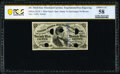 Fractional Currency:Third Issue, Milton 3E25F.3 25¢ Third Issue PCGS Banknote Choice About Uncirculated 58.. ...
