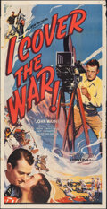"Movie Posters:Action, I Cover the War (Universal, 1937). Folded, Fine-. Three Sheet (41"" X 80""). Action.. ..."