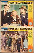 "Movie Posters:Drama, From Hell to Heaven (Paramount, 1933). Overall Grade: Fine. Lobby Card (11"" X 14"") & Trimmed Lobby Card (10.75"" X 14""..."