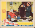 "Movie Posters:Film Noir, The Glass Key (Paramount, 1942). Very Fine-. Lobby Card (11"" X 14""). Film Noir.. ..."