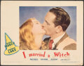 """Movie Posters:Fantasy, I Married a Witch (United Artists, 1942). Fine/Very Fine. Lobby Card (11"""" X 14""""). Fantasy.. ..."""