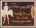 """Movie Posters:Comedy, The Seven Year Itch (20th Century Fox, 1955). Fine. Title Lobby Card (11"""" X 14""""). Comedy.. ..."""