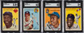 Baseball Cards:Sets, 1954 Topps Baseball Near Set (247/250). ...