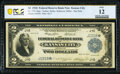 Fr. 774* $2 1918 Federal Reserve Bank Note PCGS Banknote Fine 12