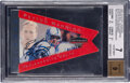 Football Cards:Singles (1970-Now), 2001 Playoff Honors Honor Roll Autographs Peyton Manning #154 ('98 Contenders Pennants) BGS NM 7, Auto 9 - #'d 1/1....