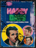 """Non-Sport Cards:Unopened Packs/Display Boxes, 1976 """"Happy Days"""" Second Series Wax Box. ..."""