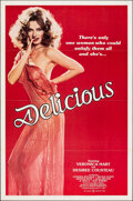 """Movie Posters:Adult, Delicious & Other Lot (Praxis Productions, 1981). Flat Folded, Very Fine+. One Sheet & Video One Sheet (27"""" X 41""""). Adult.. ... (Total: 2 Items)"""