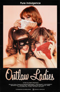 """Movie Posters:Adult, Outlaw Ladies & Other Lot (Quality, 1981). Flat Folded, Very Fine+. One Sheets (2) (27"""" X 41""""). Adult.. ... (Total: 2 Items)"""