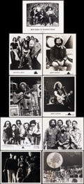 """Movie Posters:Rock and Roll, The Grateful Dead (1970s-1980s). Very Fine. Photos (10) (approx. 8"""" X 10"""") & Concert Ticket (2.5"""" X 6.5""""). Rock and Roll.. ... (Total: 11 Items)"""
