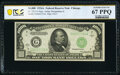 Small Size:Federal Reserve Notes, Fr. 2212-G $1,000 1934A Federal Reserve Note. PCGS Banknote Superb Gem Unc 67 PPQ.. ...