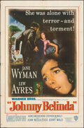 "Movie Posters:Drama, Johnny Belinda (Warner Bros., 1948). Folded, Fine. One Sheet (27"" X 40.75""). Drama.. ..."