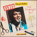 Movie Posters:Elvis Presley, Elvis Sings for Children and Grownups Too! by Elvis Presley (RCA Records, 1978). Rolled, Very Fine-. Album Promotional Poste...