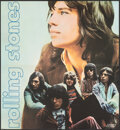 """Movie Posters:Rock and Roll, Rolling Stones: Let It Bleed (London, 1969). Folded, Very Fine. British Album Poster Insert (21.25"""" X 23""""). Rock and Roll.. ..."""