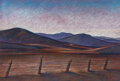 Works on Paper, Howard Post (American, b. 1948). Cattle Country. Pastel on paper. 29-3/4 x 39-1/2 inches (75.6 x 100.3 cm) (sight). Sign...