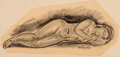 Paintings, Paul Manship (American, 1885-1966). Group of four sketches. Mixed media on paper. 17 x 26 inches (43.2 x 66.0 cm) (large... (Total: 4 Items)