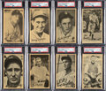 "Baseball Cards:Sets, 1937 R314 Goudey ""Wide Pen"" Premiums (Type 4) Near Set (25/36). ..."