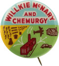 Political:Pinback Buttons (1896-present), Wendell Willkie: Classic Chemurgy Button. ...
