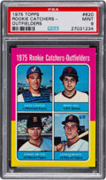 Baseball Cards:Singles (1970-Now), 1975 Topps Gary Carter - Rookie Catchers-Outfielders #620 PSA Mint 9. ...