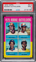 Baseball Cards:Singles (1970-Now), 1975 Topps Jim Rice - Rookie Outfielders #616 PSA Mint 9. ...