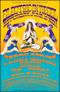 """Movie Posters:Rock and Roll, Electric on the EEL With Jerry Garcia (Bill Graham & The Hog Farm, 1989). Very Fine-. Window Card (11"""" X 17"""") Thomas Chapman..."""