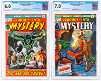 Journey Into Mystery #1 and 6 Group (Marvel, 1972-73).... (Total: 2 Comic Books)