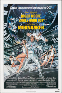 "Moonraker (United Artists, 1979). Folded, Very Fine. One Sheet (27"" X 41"") & Fold-Out Program (12"" X..."