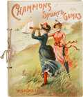 "Baseball Cards:Other, 1887 A42 ""Kimball's Champions"" Album. ..."