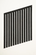 Prints & Multiples, Donald Judd (1928-1994). Untitled, 1978-79. Aquatint on wove paper. 40 x 29-1/2 inches (101.6 x 74.9 cm) (sheet). Ed. 24...