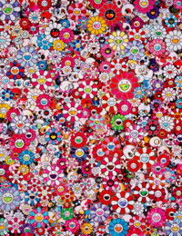Takashi Murakami (b. 1962) Circus: Embrace Peace and Darkness within Thy Heart, 2013 Offset lithogra