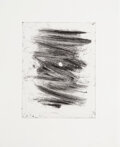 Prints & Multiples, Christopher Wool (b. 1955). Untitled, from 6+4, 2005. Aquatint on wove paper. 16 x 13 inches (40.6 x 33 cm) (sheet)...