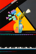 Prints & Multiples, Milton Glaser (1929-2020). Metamorphic Flowers, late 20th century. Serigraph in colors on wove paper. 36-3/4 x 26 inches...