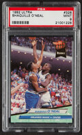 Basketball Cards:Singles (1980-Now), 1992 Ultra Shaquille O'Neal #328 PSA Mint 9....