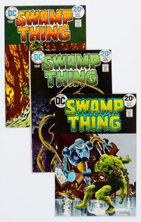 Swamp Thing #6 and 8-10 Group (DC, 1973-74) Condition: Average VF.... (Total: 4 )
