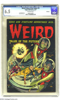 Golden Age (1938-1955):Horror, Weird Tales of the Future #6 Bethlehem pedigree (Aragon, 1953) CGCFN+ 6.5 Off-white pages. Bernard Baily cover. CGC notes, ...
