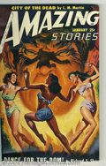 Pulps:Science Fiction, Amazing Stories Pulp Group (Ziff-Davis, 1950-53). Here is a nicegroup of 35 science fiction pulp magazines, consisting of a...(Total: 35 items Item)
