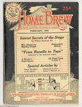 Books:Vintage Paperbacks, Home Brew V1#1 - H. P. Lovecraft (E. D. Houtain, 1922) Condition: FN. Howard Phillips Lovecraft is one of America's undisput...