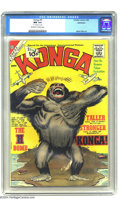 Silver Age (1956-1969):Horror, Konga #5 Bethlehem pedigree (Charlton, 1962) CGC NM 9.4 Off-whiteto white pages. This is by far the highest-graded copy of ...